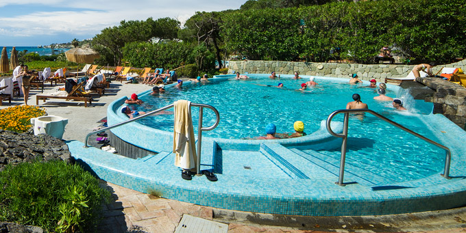 Pools therme poseidon gärten ischia thermen pools